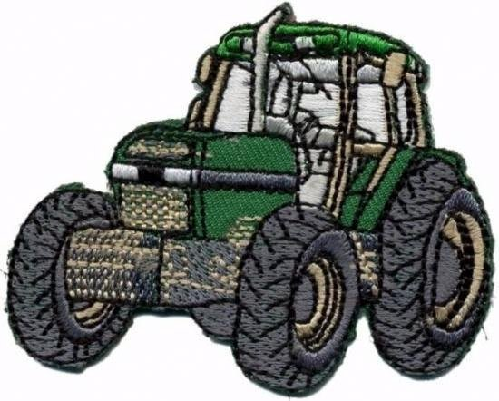 strijkembleem tractor