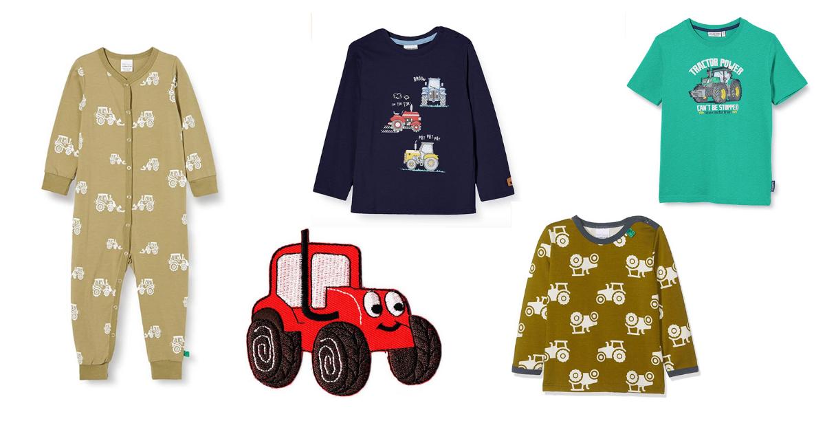 Kinderkleding met tractor