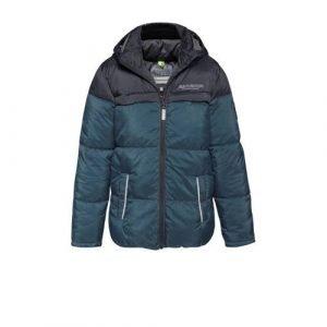 WE Fashion winterjas blauw/donkerblauw