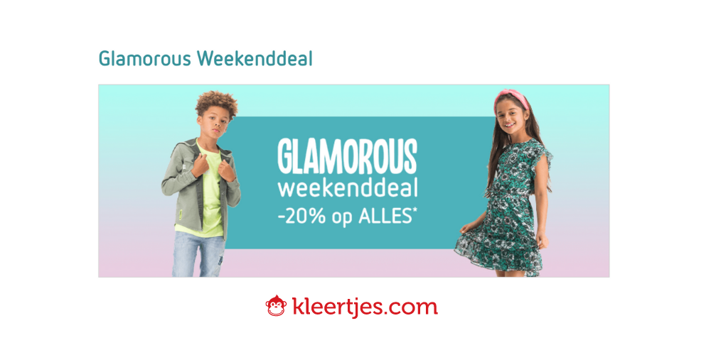 Glamorous weekend bij kleertjes.com