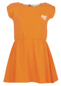 oranje jurk meisje bristol