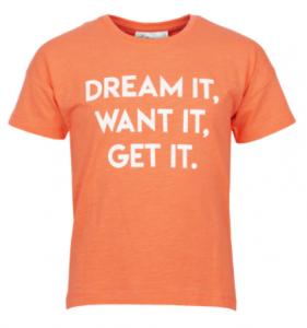 goedkoop oranje t-shirt kind
