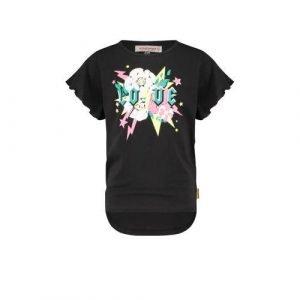 Vingino T-shirt Imani met printopdruk zwart