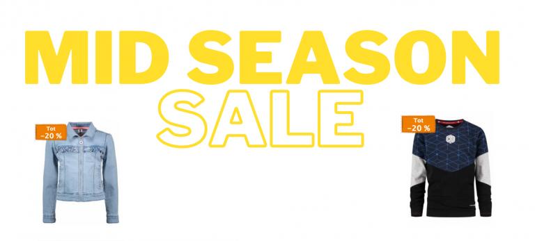 kinderkleding mid season sale