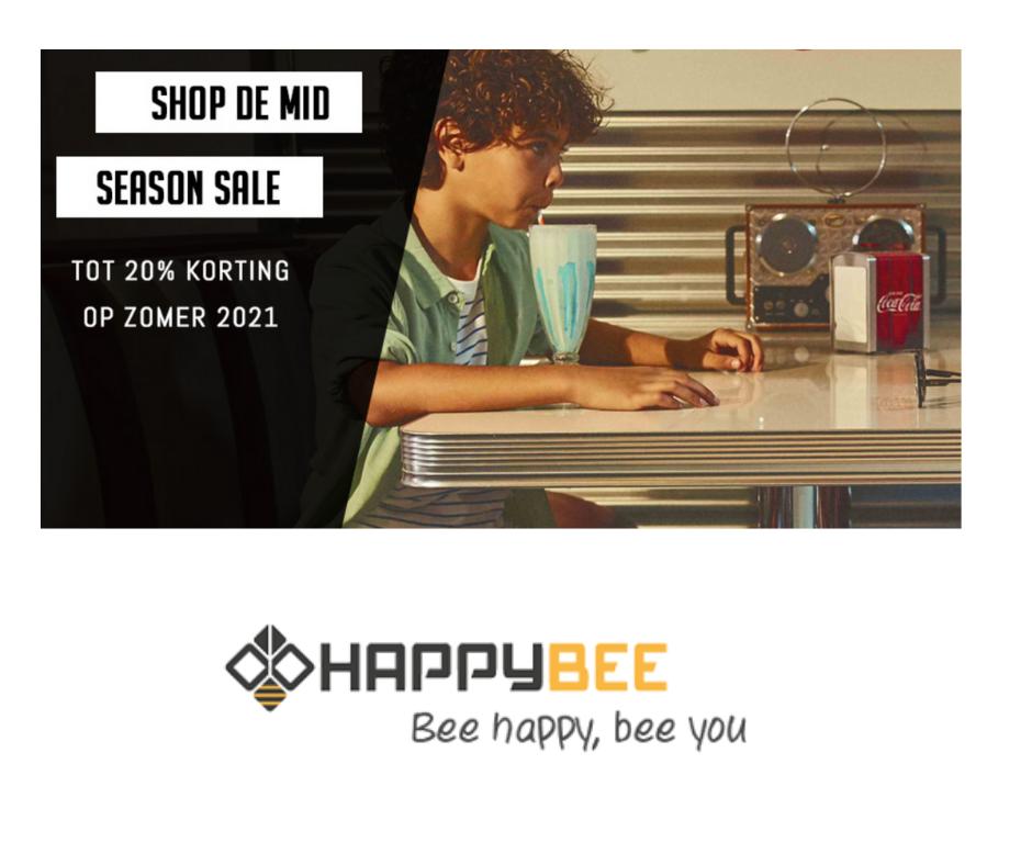 mid season sale happy bee