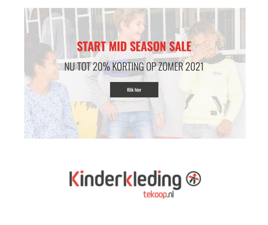 mid season sale kinderkleding