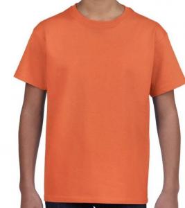 Kinder t-shirt oranje bol