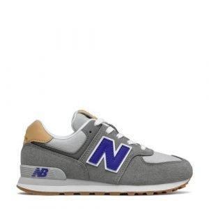 New Balance 574 sneakers grijs/blauw/bruin