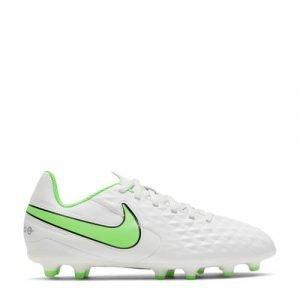 Nike Tiempo Legend 8 Club MG Jr. voetbalschoenen lichtgrijs/felgroen