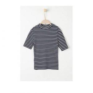 s.Oliver gestreept T-shirt marine/wit