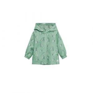 Mango Kids zomerjas met all over print groen