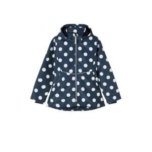 NAME IT KIDS zomerjas Maxi met stippen donkerblauw