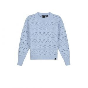 NIK&NIK fijngebreide trui Anka lichtblauw