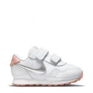Nike MD Valiant sneakers wit/metallic zilver/metallic roze